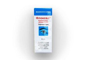 Флоксал — глазные капли и мазь: инструкция по применению для детей.