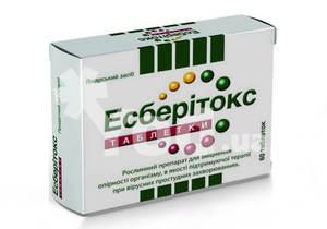 Эсберитокс инструкция, цена в аптеках, аналоги   tabletki. Ua.