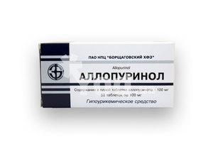 аллопуринол инструкция по применению цена украина - фото 4