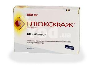 Глюкофаж похудение схема