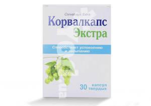 корвалкапс экстра инструкция по применению таблетки
