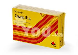 инструкция таблетки оксилик