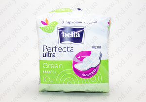 Прокладки Bella (Белла) Perfecta Ultra Green