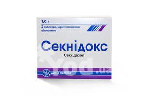 Противопротозойное средство world medicine секнидокс «секнидокс.