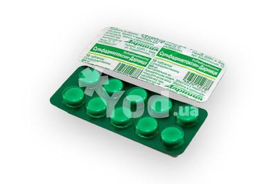 сульфадиметоксин таблетки инструкция по применению от чего