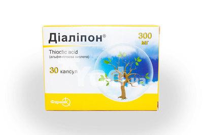 диалипон таблетки 300 мг инструкция - фото 6