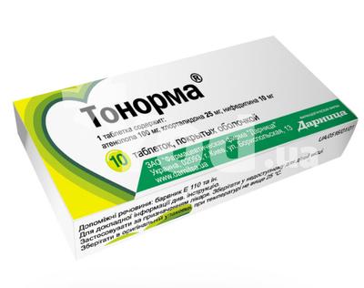 тонорма таблетки инструкция по применению цена
