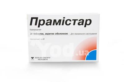 таблетки прамистар инструкция по применению - фото 4