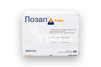 Лозап плюс, таблетки 50 мг+12. 5 мг, 30 шт. Купить, цена и отзывы.