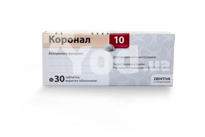 таблетки коронал инструкция по применению цена