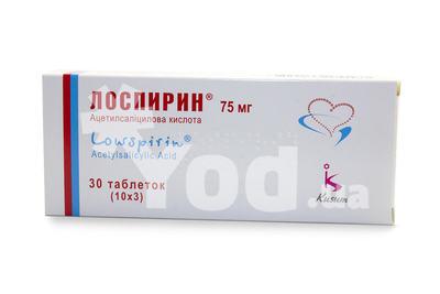 Лоспирин инструкция по применению цена отзывы аналоги