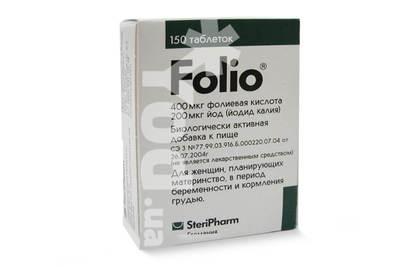 таблетки фолио инструкция по применению цена