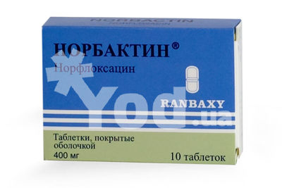 таблетки норбактин инструкция по применению цена