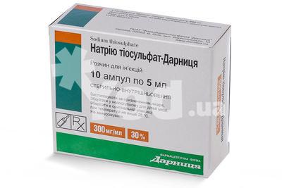 Натрия тиосульфат отзывы 30%инструкция