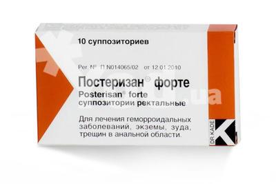постеризан форте мазь инструкция цена украина
