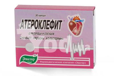 Атероклефит: инструкция по применению, цена, отзывы врачей, аналоги.