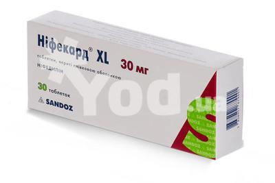 нифекард хл 30 мг цена инструкция аналоги - фото 4