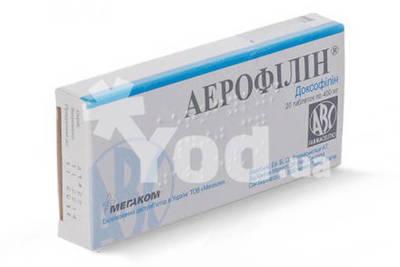 аэрофиллин инструкция по применению цена отзывы аналоги